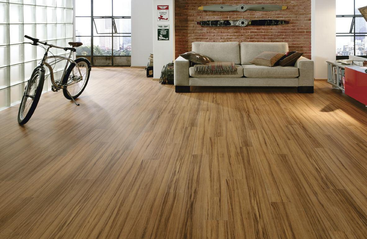 Phối màu tương hợp giữa sàn gỗ và đồ nội thất 1